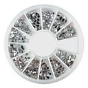 hesapli Makyaj ve Tırnak Bakımı-240 pcs Nail Jewelry / Glitter & Poudre / Dekorasyon Setleri Karikatür / Moda Sevimli Günlük / Arkilik