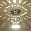 hesapli LED Tavan Işıkları-Sıva Altı Monteli Ortam Işığı Eloktrize Kaplama Metal Mini Tarzı, LED 110-120V / 220-240V Sıcak Beyaz / Mavi Ampul Dahil