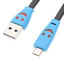 hesapli Telefon Kabloları ve Adaptörleri-Mini USB Normal Kablo Samsung için Plastikler
