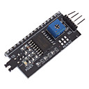 cheap Displays-LCD1602 Adapter Board w/ IIC / I2C Interface - Black (Works With Official (For Arduino) Boards
