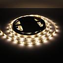 hesapli LED Şerit Işıklar-5m Esnek LED Şerit Işıklar 150 LED'ler 5050 SMD Sıcak Beyaz Su Geçirmez 12 V