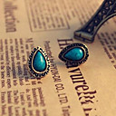 cheap Earrings-- Rhinestone Vintage, European Style Blue For Daily / Office & Career