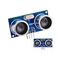 hesapli Sensörler-Ultrasonik Sensör HC-SR04 Mesafe Ölçüm Modülü - Mavi + Gümüş