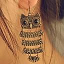 저렴한 목걸이-여성용 드랍 귀걸이 - 부엉이, 동물 유럽의, 패션 제품 일상