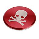 Недорогие Серьги-черепа печатать сплав красный дом кнопки наклейки для iphone 8 7 samsung galaxy s8 s7 / ipad / ipod