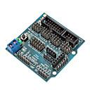 hesapli Motorlar ve Parçaları-uyumlu (Arduino için) sensörü kalkan v5.0 sensörü genişleme kartı