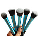 cheap Makeup & Nail Care-1pcs-light-blue-nylon-hair-aluminium-handle-makeup-blusher-foundation-powder-brush-random-type-17x3x2cm