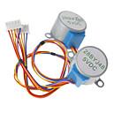 hesapli Elektrik Fişleri ve Soketleri-(Arduino için) için dc 5v 28ybj-48 step motor ((ile çalışır resmi (arduino) tahtaları / 2 adet için)