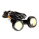 preiswerte Wasserhähne-Paar-3W High Power LED-Ultra-Thin-Led Eagle Eye Rücklicht hintere Lampen-Weiß-Farbe 2786