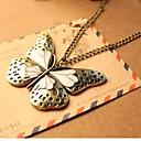 abordables Estampado-Mujer Collares con colgantes - Mariposa, Animal Europeo Dorado, Pantalla de color Gargantillas Joyas Para