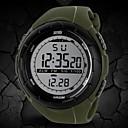 hesapli Hoparlörler-SKMEI Erkek Spor Saat Bilek Saati Dijital saat Dijital 30 m Su Resisdansı Alarm Takvim Kauçuk Bant Dijital Moda Siyah / Mavi / Gri - Siyah Gri Yeşil İki yıl Pil Ömrü / Kronograf / LCD