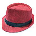 رخيصةأون قبعات الرجال-الصيف بني خمر كاكي قبعة الماصة قبعة شمسية لون سادة رجالي قش,عتيق