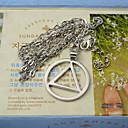 voordelige Kettingen-shixin® europese eminem favoriete luxe zilveren legering hanger ketting (1 st)