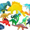 رخيصةأون ساعات الرجال-مجسمات شخصيات الحركة مجموعات البناء ديناصور مطاط قطيفة للصبيان للفتيات ألعاب هدية