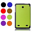 저렴한 태블릿 케이스-케이스 제품 LG 전체 바디 케이스 전체 바디 케이스 한 색상 하드 PU 가죽 용