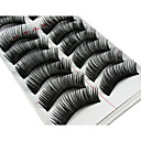 cheap Makeup & Nail Care-Eyelash Extensions False Eyelashes 20 pcs Volumized Curly Thick Fiber Daily Makeup Daily Makeup Cosmetic Grooming Supplies