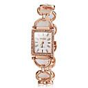 preiswerte Damenuhren-Damen Japanisch Armbanduhren für den Alltag Edelstahl Band Analog Elegant Silber / Gold / Rotgold - Gold Silber Rotgold