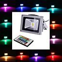 Χαμηλού Κόστους Προβολείς LED-4 W 450-700 lm LED Προβολείς 1 leds Ενσωματωμένο LED Τηλεχειριζόμενο RGB AC 85-265V