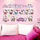 cheap Dog Clothing & Accessories-Cartoon Wall Stickers Plane Wall Stickers Decorative Wall Stickers, Vinyl Home Decoration Wall Decal Wall