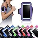 Χαμηλού Κόστους Θήκες και τσάντες Universal-tok Για iPhone 6s Plus iPhone 6 Plus Παγκόσμιο με παράθυρο Περιβραχιόνιο Λουράκι για το Μπράτσο Συμπαγές Χρώμα Μαλακή Υφασμα για