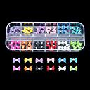 baratos Acessórios de Moda Personalizados-1 pcs Jóias de unha Flor / Abstracto / Desenho Adorável Diário Nail Art Design / Punk