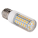 cheap Flashlights-BRELONG 1 pc E27 56LED SMD5730 Corn Light 220V White  Warm White