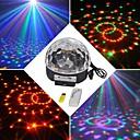 hesapli LED Sahne Işıkları-18w rgb led mp3 sahne kristal sihirli top ışık eu (ac100-240v)