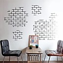 hesapli Çıkartmalar ve Desenler-Natürmort Şekiller Mimari Duvar Etiketler Uçak Duvar Çıkartmaları Dekoratif Duvar Çıkartmaları, Vinil Ev dekorasyonu Duvar Çıkartması