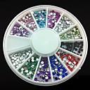 cheap Nail Rhinestones & Decorations-360 pcs Acrylic Nail Art Kit For Finger nail art Manicure Pedicure Abstract / Wedding