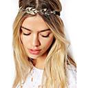 hesapli LED Aksesuarlar-Kadın's Vintage Zarif Altın Kaplama alaşım Saç Bandı