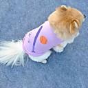 ieftine Imbracaminte & Accesorii Căței-Pisici Câine Tricou Îmbrăcăminte Câini Mov Terilenă Costume Pentru Vară Cosplay Nuntă