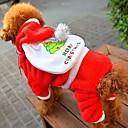 ieftine Ustensile & Gadget-uri de Copt-Câine Haine Îmbrăcăminte Câini Rosu Lână polară Costume Pentru Iarnă