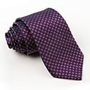 hesapli Erkek Kravatları ve Papyonları-Erkek Parti İş Polyester Boyun Bağı - Desen