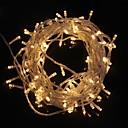 ieftine Benzi Lumină LED-ZDM® 10m Fâșii de Iluminat 100 LED-uri Dip Led Alb Cald / Alb Rece Rezistent la apă / Decorativ / Crăciun decor de nunta 220-240 V 1 buc / IP65