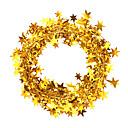 preiswerte Dekoration-2pcs nochi 7.5m hohen Drahtstern Weihnachtsfarbstreifen Ornamente (Farbe sortiert)