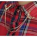 hesapli Boncuklar ve Takı Yapımı-Kadın's - Moda Broş Gümüş / Altın Uyumluluk Düğün / Parti / Günlük
