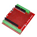cheap Motherboards-Robotale Proto Screw Shield Assembled for Arduino - Red