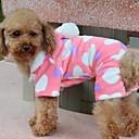 preiswerte Bekleidung & Accessoires für Hunde-Hund Mäntel Kapuzenshirts Pyjamas Hundekleidung Herz Polar-Fleece Baumwolle Kostüm Für Haustiere