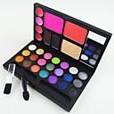 hesapli Makyaj ve Tırnak Bakımı-30 Renk Pudralar Kızarmak Kuru / Mat / Pırıl Pırıl Yüz Makyaj Kozmetik