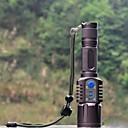 hesapli Bisiklet Işıkları-LED Fenerler LED 1198 lm 5 Işıtma Modu Pil ile Taktik / Su Geçirmez / Darbeye Dayanıklı Kamp / Yürüyüş / Mağaracılık / Polis / Ordu / Bisiklete biniciliği Siyah