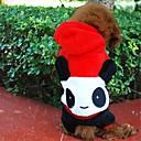 hesapli Köpek Giyim ve Aksesuarları-Köpek Kostümler Kıyafetler Kapüşonlu Giyecekler Köpek Giyimi Hayvan Kırmzı Polar Kumaş Karışık Materyal Kostüm Evcil hayvanlar için