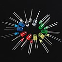 cheap Diodes-100PCS Light Emitting Diode LED3mm 5mm Red Green Yellow blue white