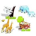 ieftine Bijuterii de Păr-Animale DIY 3d pentru mamă și copil creativ construi colecta de învățământ kit de puzzle jucărie joc de puzzle pentru copii copii