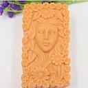 abordables Gadgets & Ustensiles de Cuisine-belle fille tournesol outils en forme de gâteau de chocolat fondant silicone moule à cake de décoration, l10.1cm * * w5.9cm h4.2cm
