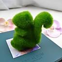 hesapli Sihirli Kartlar-araba ve ev dekorasyonu için sevimli yeşil suni çim sincap