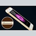 hesapli iPhone Kılıfları-4.7 inç iphone için kişiselleştirilmiş oyulmuş zarif metal tampon çerçeve kabuk 6 (altın, gümüş, siyah, pembe)