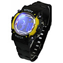 preiswerte Damenuhren-Damen Modeuhr Digitaluhr Japanisch Quartz digital 30 m Armbanduhren für den Alltag Caucho Band digital Zeichentrick Schwarz - Gelb Rot Blau Ein Jahr Batterielebensdauer