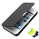 Недорогие Кейсы для iPhone-Кейс для Назначение iPhone 5c Apple Чехол Твердый Кожа PU для iPhone 5c