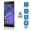 hesapli Tablet Ekran Koruyucuları-Ekran Koruyucu Sony için Sony Xperia Z3 Temperli Cam 1 parça Yüksek Tanımlama (HD)