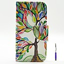 cheap Cases / Covers for LG-Case For Motorola Motorola Case Card Holder Wallet with Stand Flip Full Body Cases Tree Hard PU Leather for